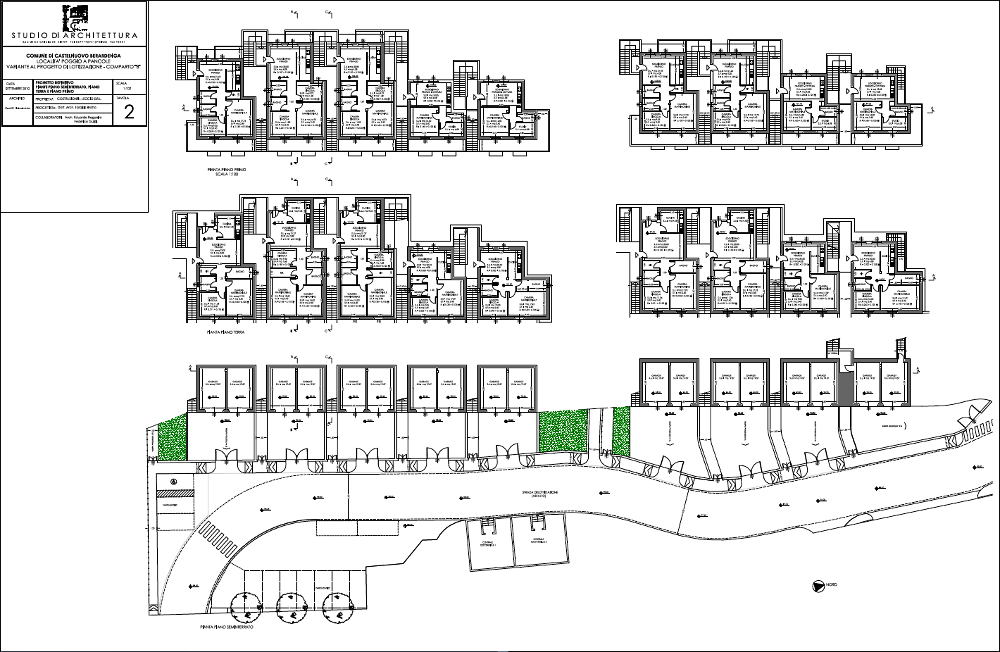 Parcelling plan and renovation plan in poggio a pancole for Apartment renovation plans